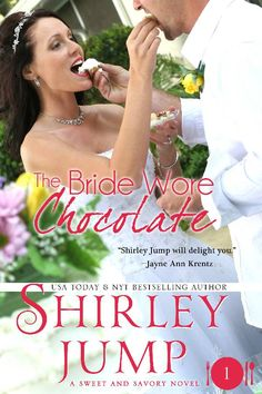 Aurelia B Rowl: Book Review: The Bride Wore Chocolate by Shirley Jump