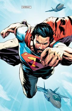 Is it just me, or does this Superman have a striking resemblance to Jesus Christ?!