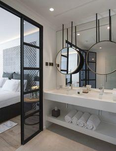 Exceptionnel Chambre Avec Salle De Bain U2013 Su0027inspirer De Certains Des Meilleurs Hôtels
