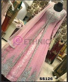 Pakistani Gowns, Pakistani Party Wear Dresses, Pakistani Wedding Outfits, Eid Dresses, Pakistani Bridal, Bridal Dresses, Indian Designer Outfits, Indian Outfits, Indian Dresses