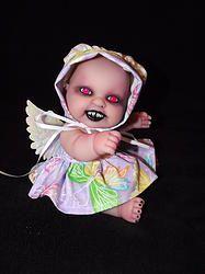 Demon fairy girl