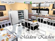 Modern Kitchen by Sim4fun at Sims Fans � Sims 4 Updates