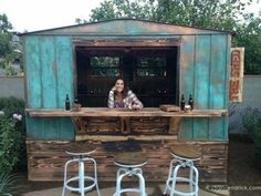 backyard bar shed shed.jpg The post backyard bar shed appeared first on Outdoor Ideas. Tin Shed, Metal Shed, Party Shed, Mini Bar, Shed Makeover, Pub Sheds, Sheds Nz, Small Sheds, Garden Sheds