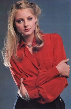 Jodie Foster 1980 | Tumblr