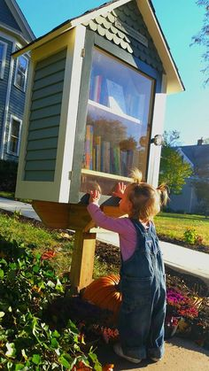 victorian style little free library - Google Search