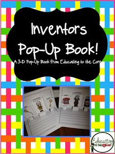 Education to the Core: Inventors pop up book