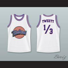 1623732f57d Space Jam Tune Squad Tweety Bird Basketball Jersey