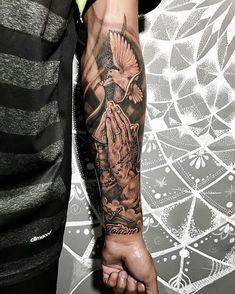 wrist covering wrist tattoo wrist tattoo template wrist realistic tattoo Ta Source by MruSleevetattoos Forarm Tattoos, Forearm Sleeve Tattoos, Best Sleeve Tattoos, Tattoo Sleeve Designs, Leg Tattoos, Mens Wrist Tattoos, Jesus Forearm Tattoo, Forearm Tattoos For Guys, Half Sleeve Tattoos For Men