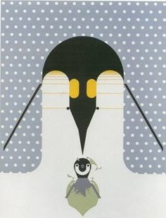 B-r-r-r-r-rthday-Is penguin parenthood planned? Let's scan their plan. It's 60 below in the rookery 60 miles inland where a pair of passionate penguins yield to the impulse to populate Antarctica. He incubates while she peregrinates, waddling back to the ocean to feast on seafood. Two months later, she's back to feed their newborn by regurgitation, but no doggy bag for daddy. He waddles weakly away from fast to feast, 60 miles to go at 60 below. Cool plan-for subzero population growth.