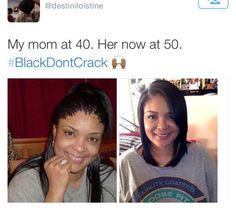 black dont crack | Black Don't Crack! 15 Instagram Women Defying The Hands Of Time ...