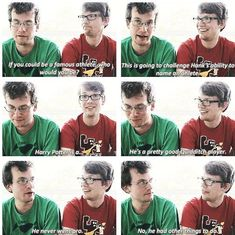 these guys... the vlogbrothers are several kinds of awesome :P