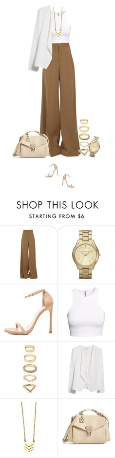 """""""Fancy dinner !"""" by azzra ❤ liked on Polyvore featuring moda, STELLA McCARTNEY, Michael Kors, Stuart Weitzman, H&M, Forever 21, MANGO, CXL by Christian Lacroix, women's clothing y women"""