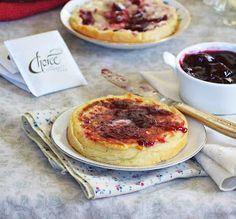 Bakeaholic Mama: Homemade English Crumpets: The Secret Recipe Club