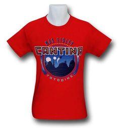 Star Wars Mos Eisley Cantina Red T-Shirt