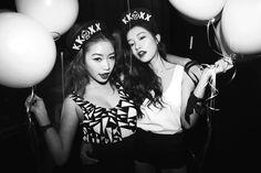 Park Sora and Jung Min Hee - Fotolog