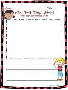 135 page packet of First Day Jitters activities and graphic organizers to use with the book by Julie Danneberg. Aligned to common core for k-2nd, differentiated, and available in color and black white.
