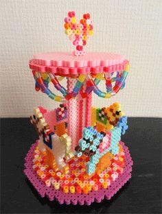 Hama beads, pedlar  3D