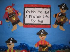 pirates to maybe make with written response to pirate reading collection