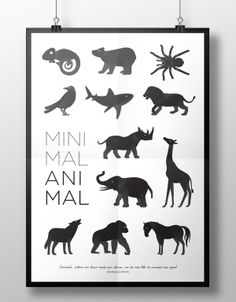 Minimal Animal on Behance