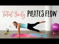 8 Pilates workouts to tone your entire body while lying on t.- 8 Pilates workouts to tone your entire body while lying on the mat + 2 tougher ones 8 Pilates workouts to tone your entire body while lying on the mat + 2 tougher ones – Beauty Bites - 30 Min Workout, Pilates Workout Routine, Pilates Training, Cardio Pilates, Pilates Moves, Toning Workouts, Workout List, Workout Ball, Workout Men