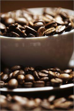Kaffee - Kaffeebohnen