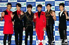 #Dream_Concert_2012 #12052012 #2PM #Taecyeon #Chansung #Junho #Junsu #Nichkhun #Wooyoung #Red_Carpet