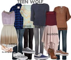 Inspired by the entire main cast of MTV's Teen Wolf. I like them all except maybe Jackson's