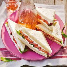 Recept - Sandwich aardbei - Allerhande