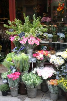 Florist Market ~ Paris, France