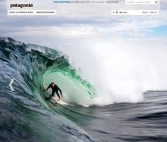 Sweet #surfing pic from #Patagonia online store.
