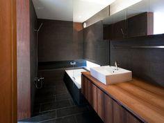 bathroom - au lieu de la douche dans le bain, le bain dans le douche?