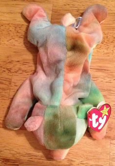 "TY ""SAMMY"" ORIGINAL BEANIE BABY 2 ERRORS RETIRED/RARE NO NUMBER ON TUSH TAG #Ty"