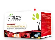 OxyGlow Fruit Bleach Cream Lightens Facial Hair Age control Treatment 240 g #OxyGlow