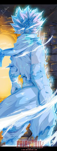 Fairy tail 366 - Frozen Natsu by i-azu<<< Natsu now is not the time to be Anna