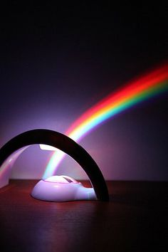 Rainbow In My Room-it's a light that makes a rainbow. Great for the kid, the tween, the teen, the college kid. $45