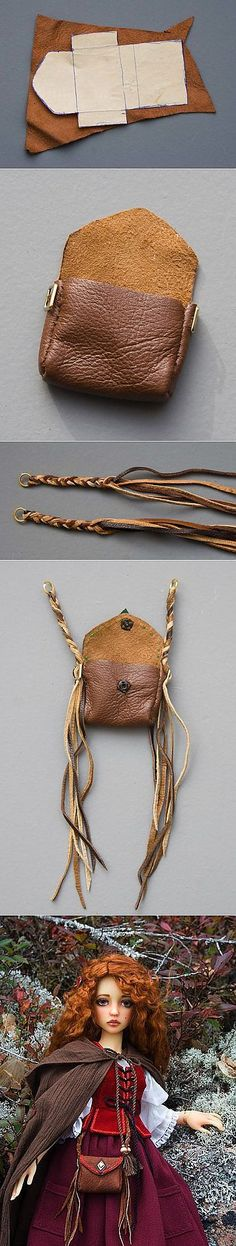 ~Make a Leather Bag for Your Doll~                                                                                                                                                                                 More