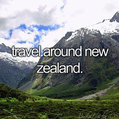 Travel around new zealand [X]