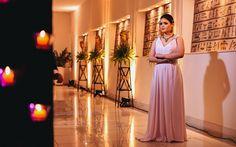 Inspire-se nas rosas e nos detalhes delicados da festa da Anna Julia Siqueira