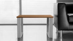 Chefzimmer Beistelltisch Couchtisch Mit Massivem Metallgestell Ecktisch  Kleine Form Hohe Qualität Und Stabilität Für Starke Beanspruchung