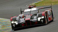 Audi manda en un accidentado Warmup en Le Mans