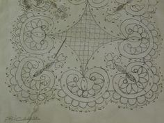 Whole Cloth Quilts, Cut Work, Bobbin Lace, Pattern Art, Art Patterns, Embroidery Art, Pin Cushions, Couture, Stencils