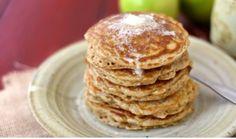 Oatmeal Raisin Pancakes at Kitchenmonki.com