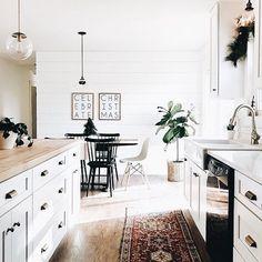 bright white home decor + bohemian style interior + classic style + fixer upper