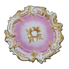 Hand-painted 16.75-inch Starburst Ceiling Medallion | Overstock.com Shopping - The Best Deals on Molding