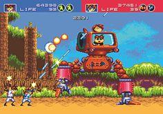 Gunstar Heroes : un classique Sega pour jouer entre deux foies gras