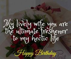 Romantic Birthday Wishes for Wife: Wife is a gift that is precious and must be given respect. Here we go with Romantic Birthday Wishes for Wife. Birthday Surprise Husband, Birthday Message For Husband, Birthday Wishes For Wife, Romantic Birthday Wishes, Brother Birthday Quotes, Teacher Birthday Gifts, Birthday Presents For Girls, Birthday Wishes Messages, Birthday For Him