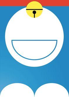 Doraemon Minimal Series on Behance
