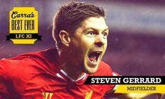 Carra's Best XI Midfield: Steven Gerrard