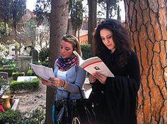 Visita alla tomba di Gramsci
