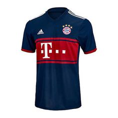 adidas Bayern Munich Soccer Jersey (Away 17/18): http://www.soccerevolution.com/store/products/ADI_41007_A.php